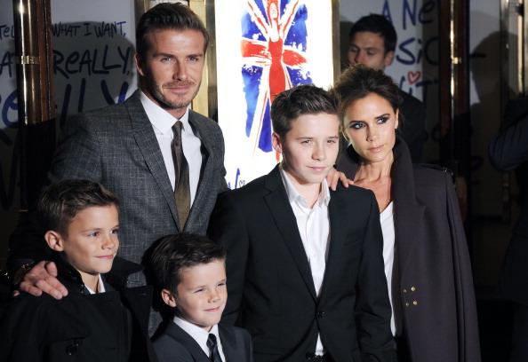 The Beckham family has always had a sense of class.