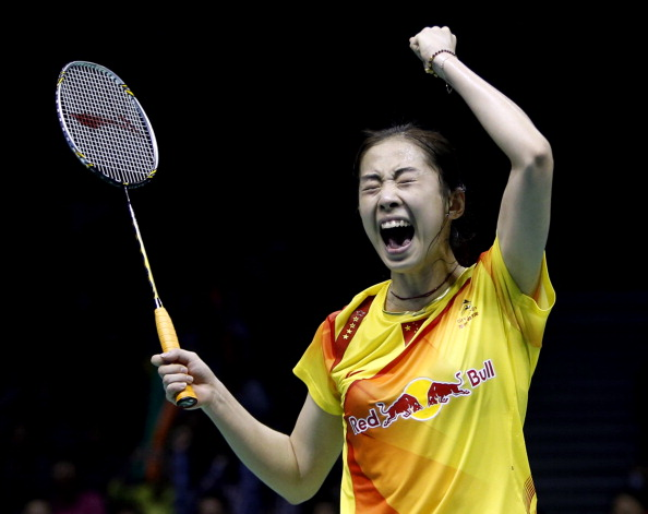 File Photo: Wang Shixian of China.