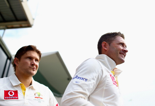Michael Clarke will not have the services of his vice-captain, Shane Watson.