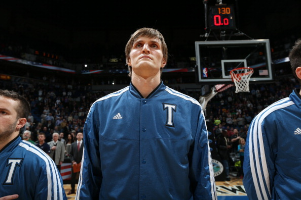 Andrei Kirilenko #47 of the Minnesota Timberwolves
