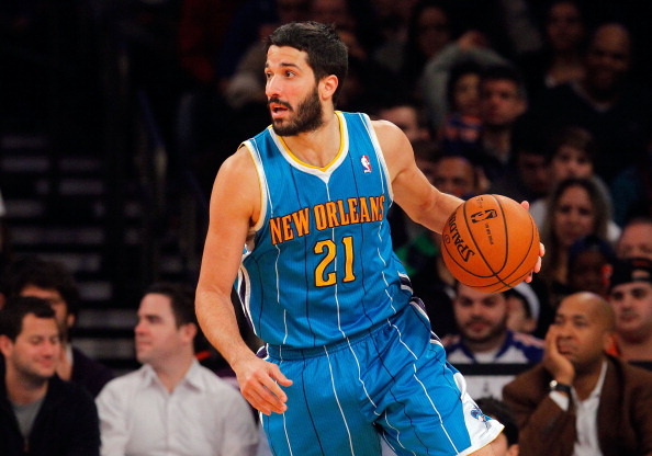 Greivis Vasquez #21 of the New Orleans Hornets