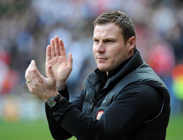 Barnsley manager, David Flitcroft