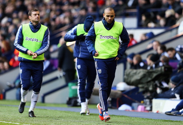 Odemwingie hasn't started a game for West Brom since his deadline day fiasco
