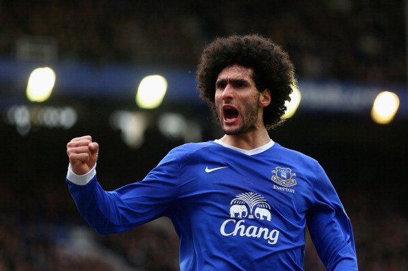Fellaini has been used to great effect higher up the field.