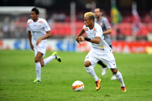 Santos v Corinthians - Paulista Championship 2013