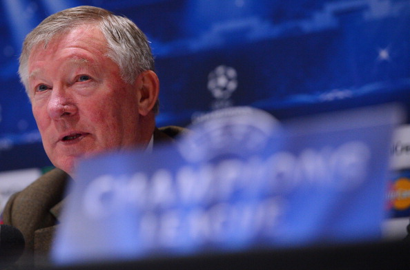 FBL-EUR-C1-MAN UTD-PRESS CONFERENCE
