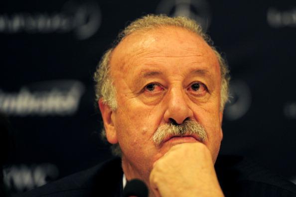 Laureus Ambassador and Spain national team coach, Vicente Del Bosque.