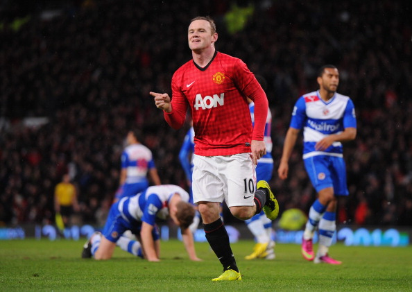 Wayne Rooney scored the only goal of the game.