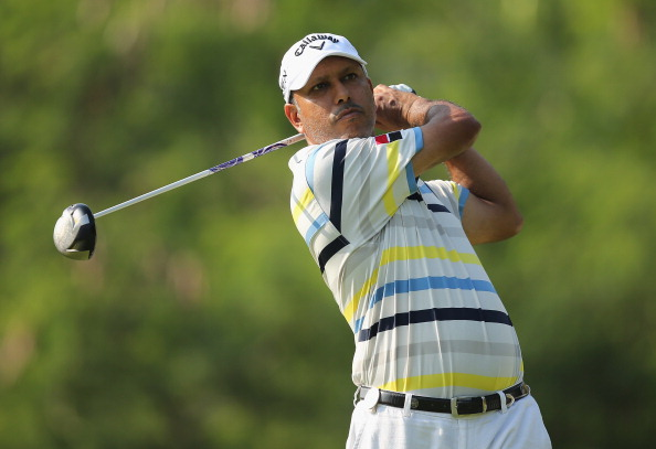 KUALA LUMPUR, MALAYSIA - MARCH 20:  Jeev Milkha Singh of India during the Pro-Am ahead of the Maybank Malaysian Open at Kuala Lumpur Golf & Country Club on March 20, 2013 in Kuala Lumpur, Malaysia.  (Photo by Ian Walton/Getty Images)