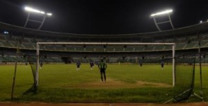 The senior division matches of the Chennai Football Association (CFA) league are often played in front of empty stands