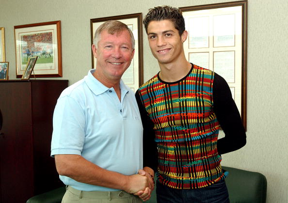 Cristiano Ronaldo Signs For Manchester United
