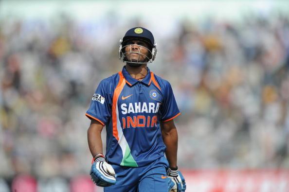Indian batsman Ravindra Jadeja leaves th