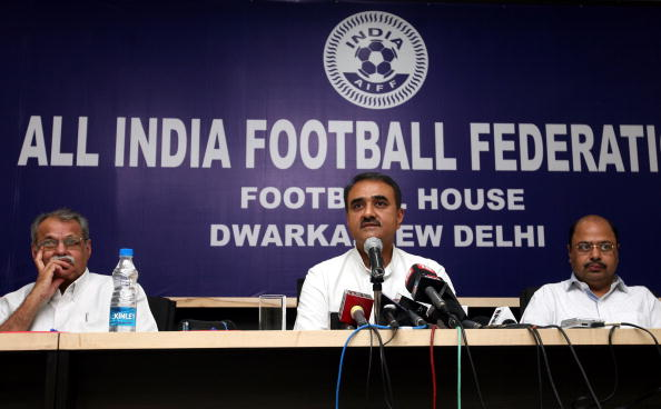 AIFF Press Conference In Delhi