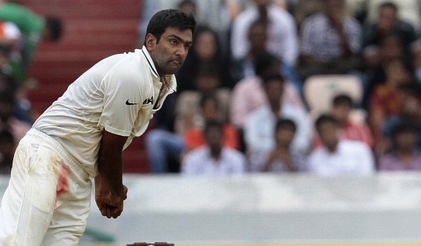 Ravichandran Ashwin picked up five wickets in the innings