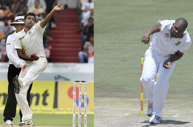 Ashwin and Philander - different bowlers, similar records