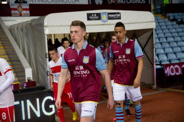 Aston Villa U19 v Olympiacos U19 - NextGen Series Quarter Final