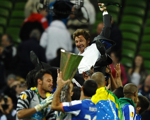 FC Porto manager Andre Villas-Boas is th