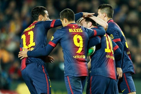 Barcelona FC v Malaga CF - Copa del Rey Quarter Final