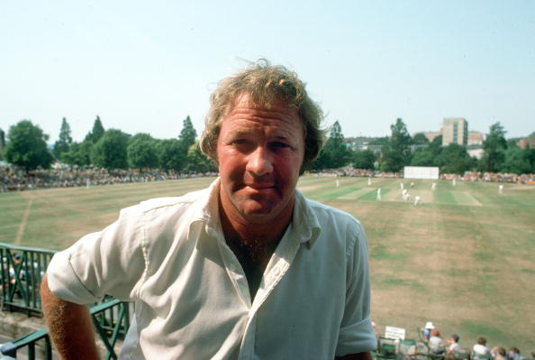 Sport. Cricket. pic: circa 1980. Eddie Barlow, South African cricket who played in England for Derbyshire, portrait.