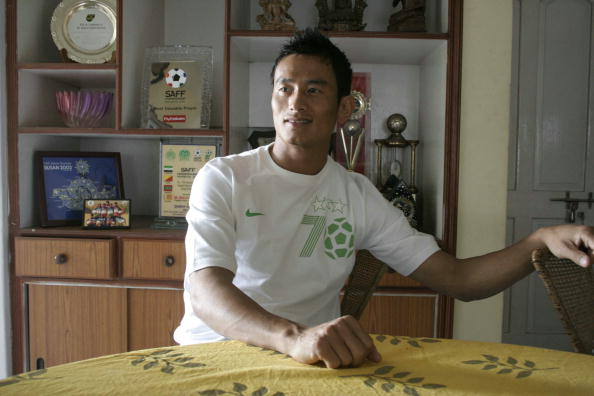 Baichung Bhutia, known Football Player of India