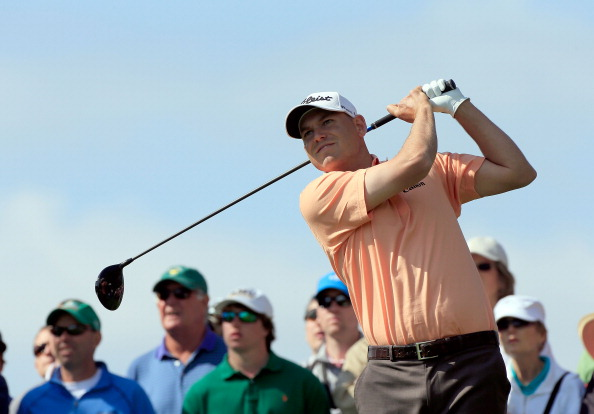ORLANDO, FL - MARCH 22:  Bill Haas  plays a shot on the 3rd hole during the second round of the Arnold Palmer Invitational