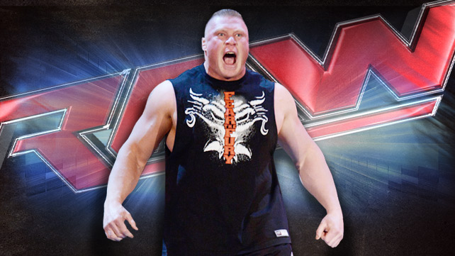 Brock Lesnar responds to Triple H on RAW