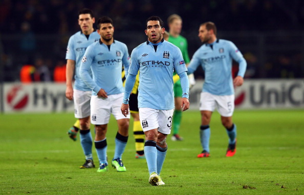 Manchester City are still having problems coping with European football