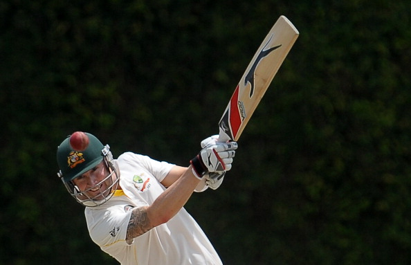Australian cricket captain Michael Clark