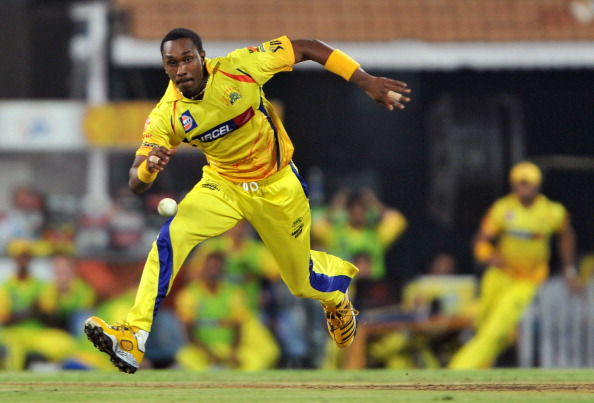 Chennai Super Kings bowler Dwayne Bravo