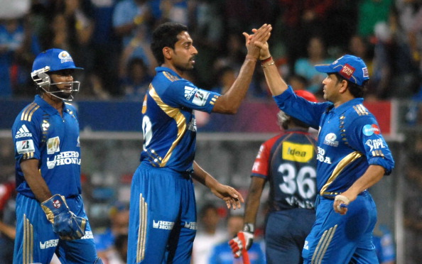 IPL Twenty20 match between Mumbai Indians and Delhi Daredevils