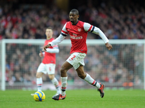 Abou Diaby will be sorely missed by the Gunners