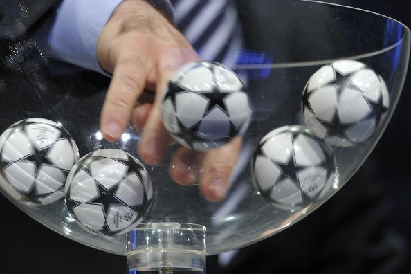 UEFA Champions League Play-Off Draw
