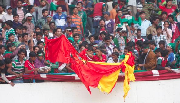 Violence At Football Match In Kolkata