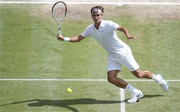 Federer would not be beaten by Murray in the Wimbledon Final, 2012. The Swiss legend fought back from a set down to take his 7th Wimbledon Crown