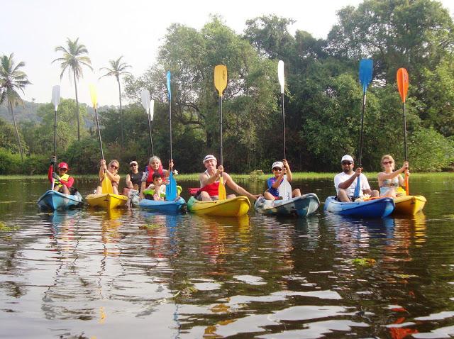 Goa Kayaking- 4