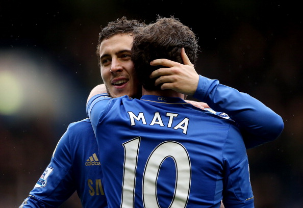 The Hazard-Mata combo may prove dangerous for United