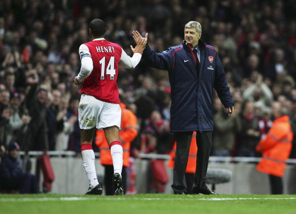 Thierry Henry proved to be a great asset on the off the pitch for Wenger