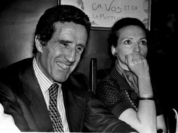 Helenio Herrera and wife