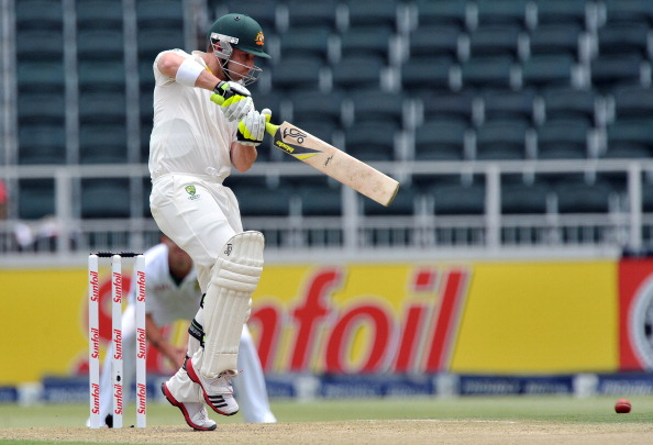 South Africa v Australia - 2nd Test Day 2