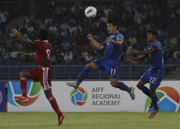 Nehru Cup: India V Maldives