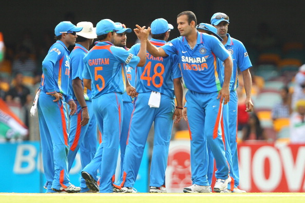 India v Sri Lanka - Tri-Series Game 8