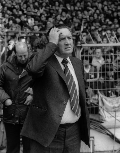 Celtic manager Jock Stein