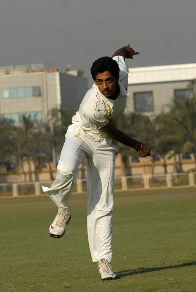 Dhaval Kulkarni, Cricket Player of India at Cricket Association Ground in Mumbai, Maharashtra, India ( Bowler, With an average that would put many of his senior contemporaries to shame, Dhawal Kulkarni, 20, has steadily become Mumbai?s pace sensation. He