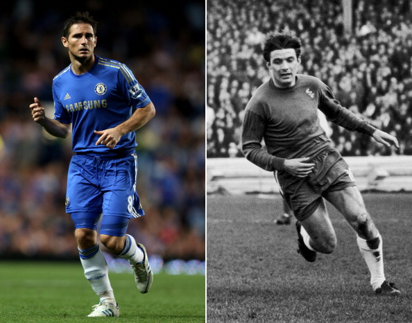 Frank Lampard and Bobby Tambling - birds of a feather