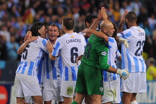 Malaga CF v AC Milan - UEFA Champions League
