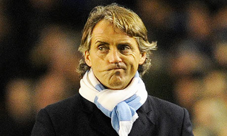 Roberto Mancini has been lacking ideas all too often this season