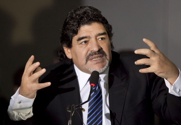 Diego Maradona to France?