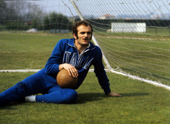 Sandro Mazzola  during a photo shoot at July 1, 1971