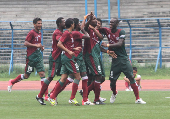 Mohun Bagan took the lead