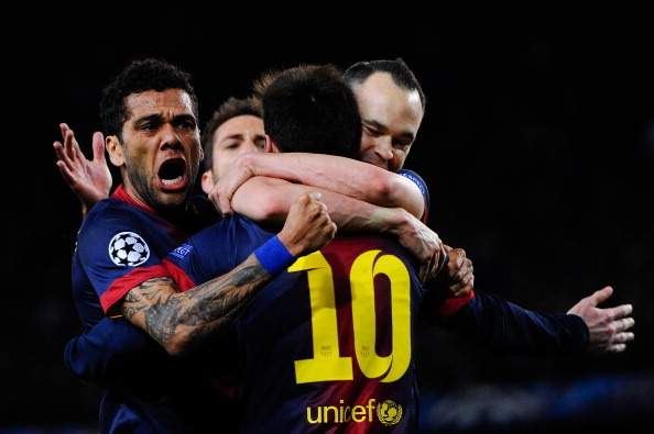 FC Barcelona v AC Milan - UEFA Champions League Round of 16